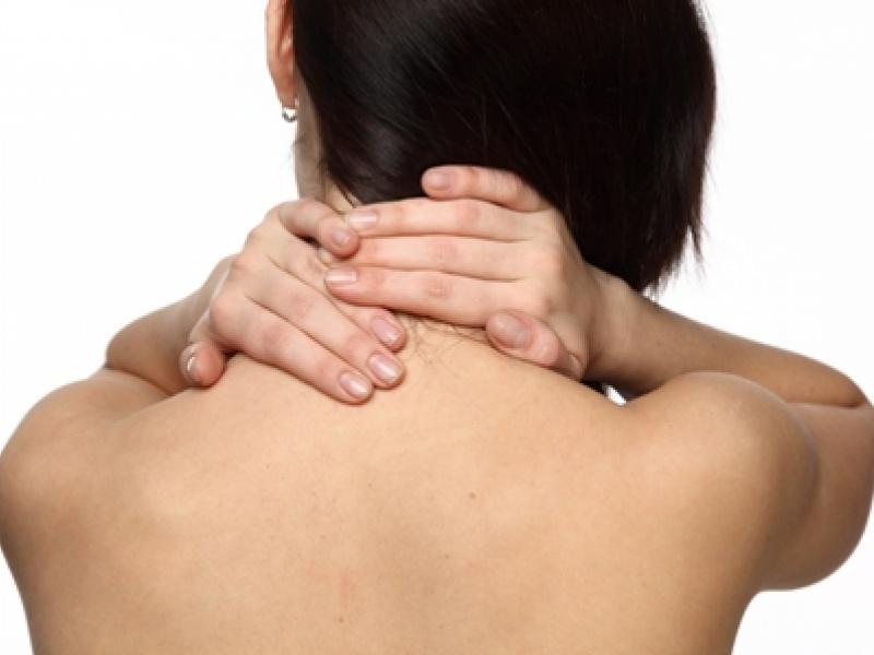 Foto de A sétima vértebra cervical