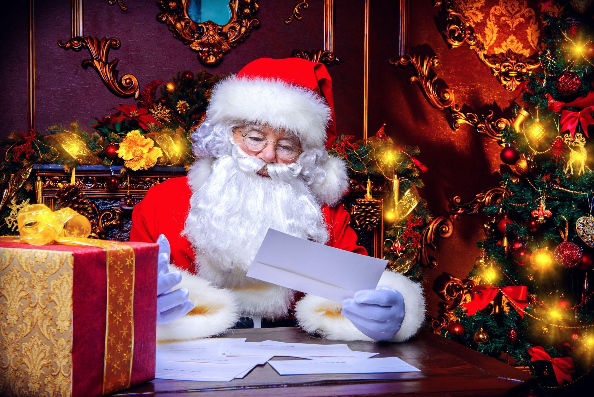 Foto de Carta-resposta do Papai Noel